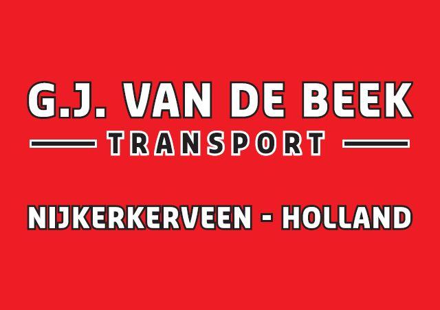 Logo G.J. van de Beek Transport